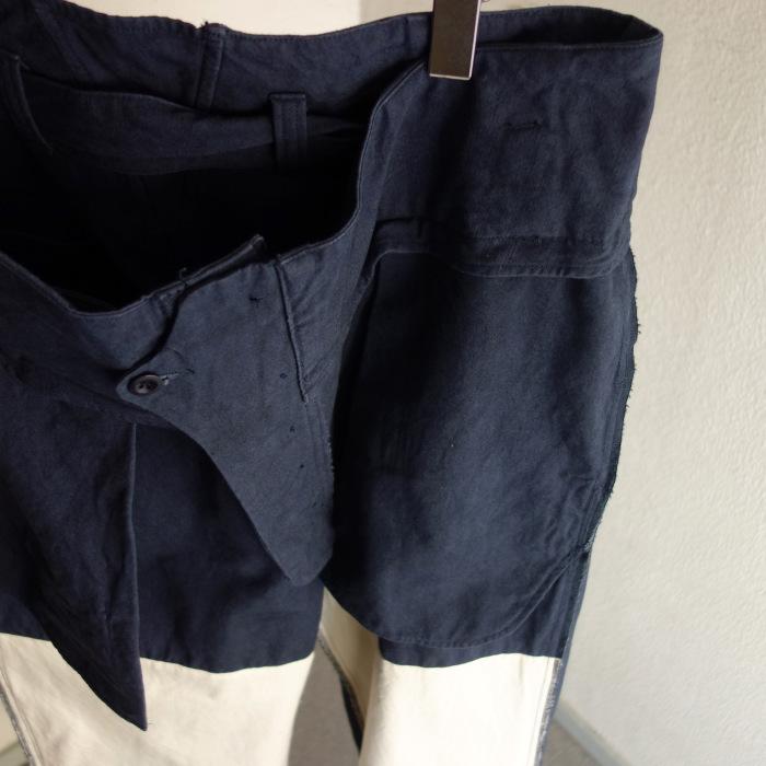 6月の製作 / tanker work cotton-linen pants / 別注品_e0130546_15572388.jpg