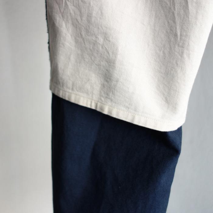 6月の製作 / tanker work cotton-linen pants / 別注品_e0130546_15580607.jpg