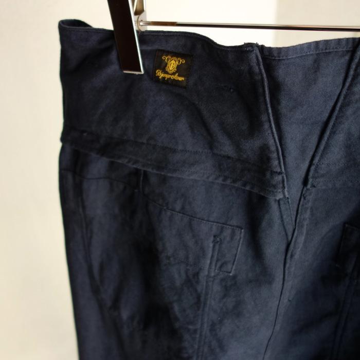 6月の製作 / tanker work cotton-linen pants / 別注品_e0130546_15582927.jpg