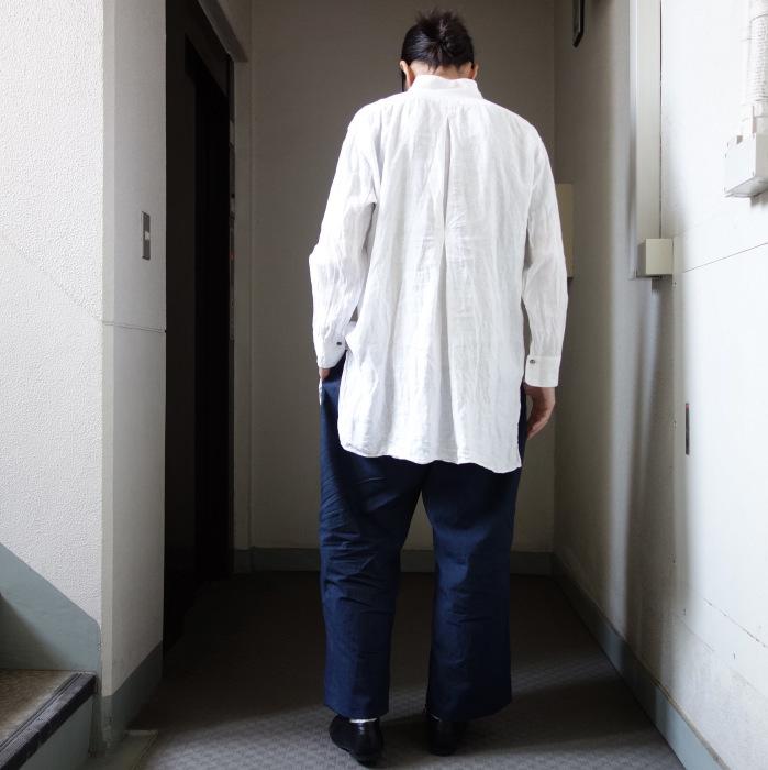 6月の製作 / tanker work cotton-linen pants / 別注品_e0130546_16011274.jpg