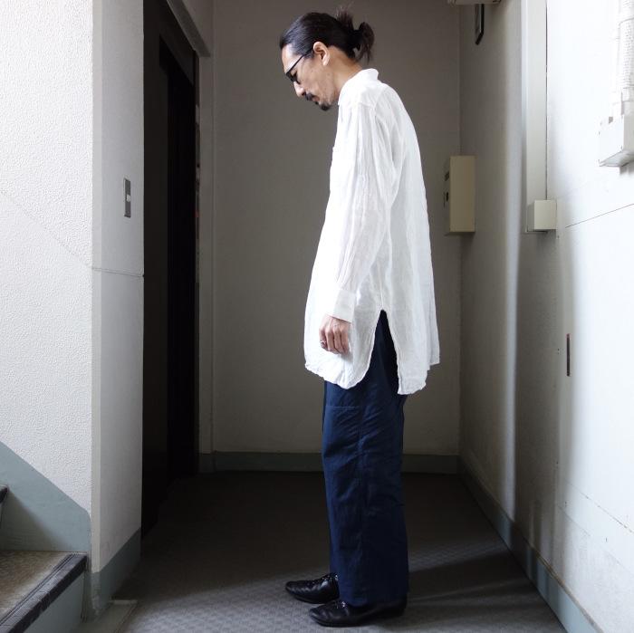 6月の製作 / tanker work cotton-linen pants / 別注品_e0130546_16012927.jpg
