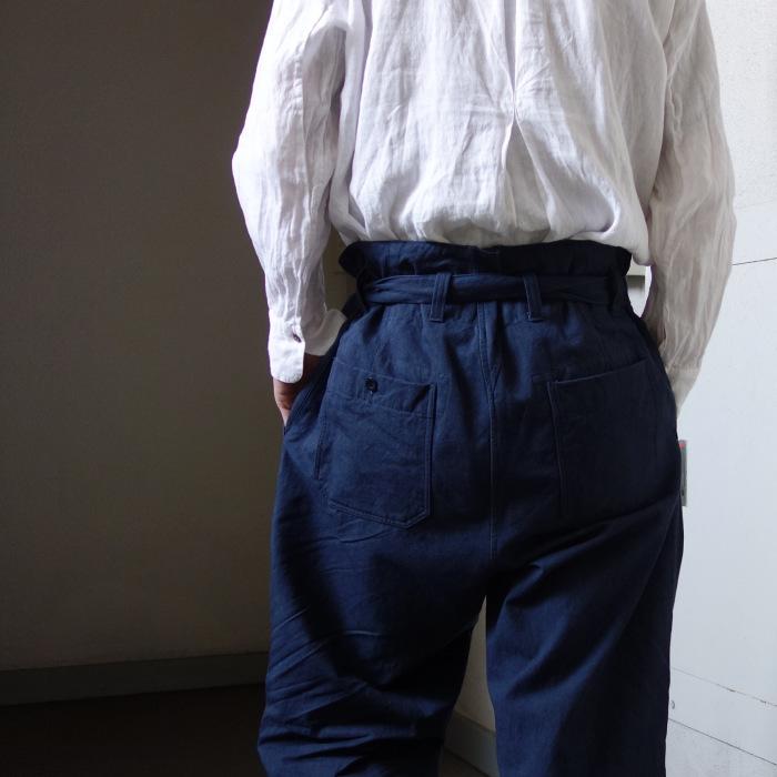 6月の製作 / tanker work cotton-linen pants / 別注品_e0130546_16013830.jpg