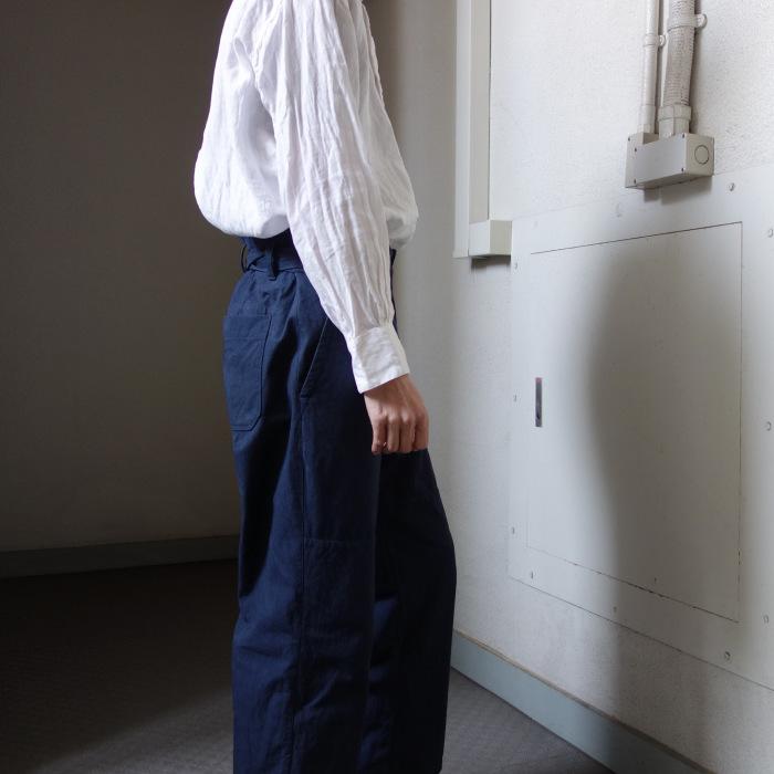 6月の製作 / tanker work cotton-linen pants / 別注品_e0130546_16014669.jpg