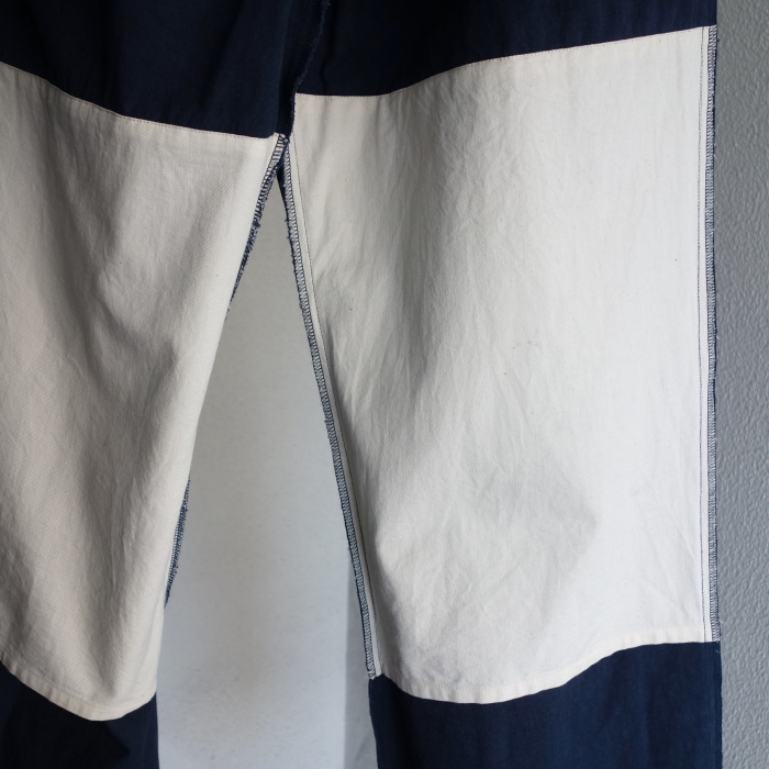 6月の製作 / tanker work cotton-linen pants / 別注品_e0130546_16021545.jpg