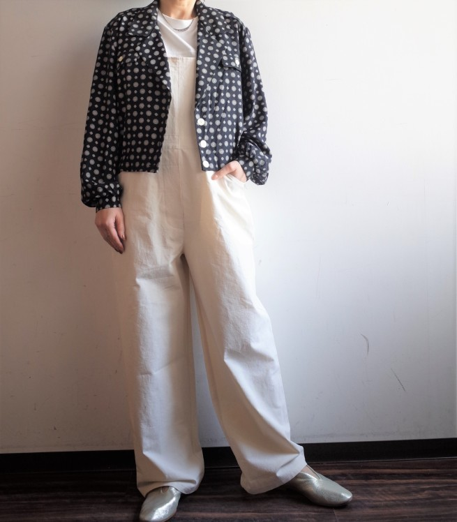 From Vintage Room◆紋柄ショートシャツJKT_e0269968_13103009.jpg