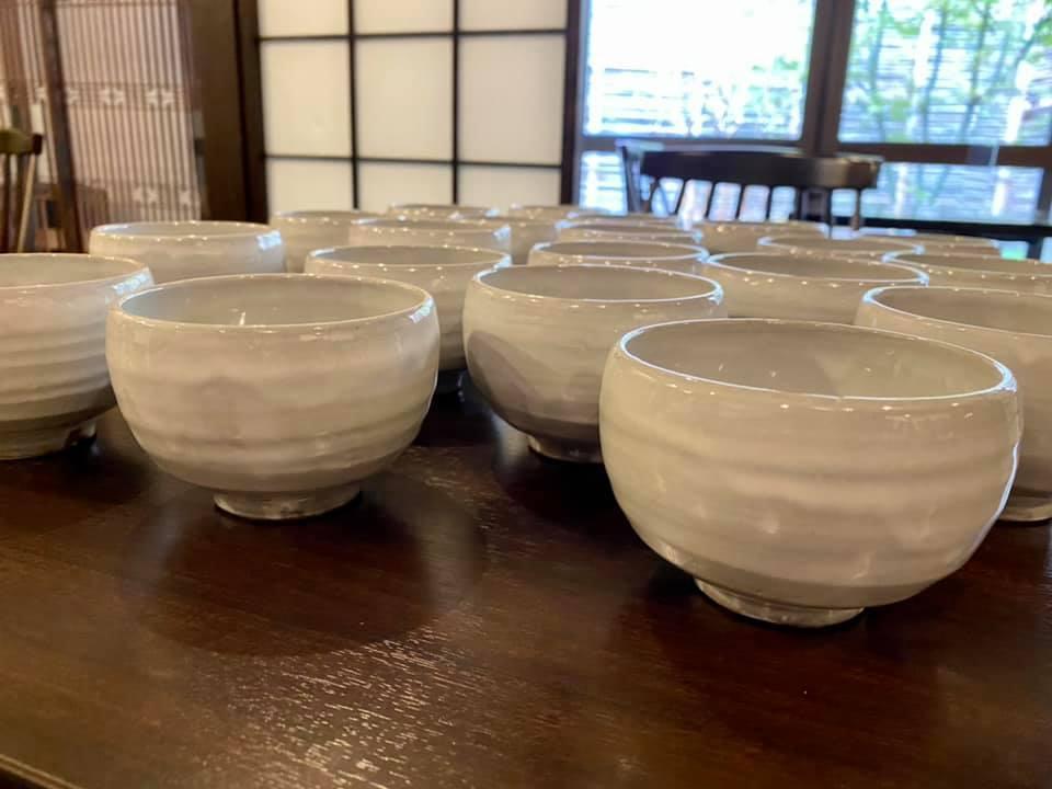 NEW 茶論粉引き煎茶碗 登場!_c0335087_16015274.jpg
