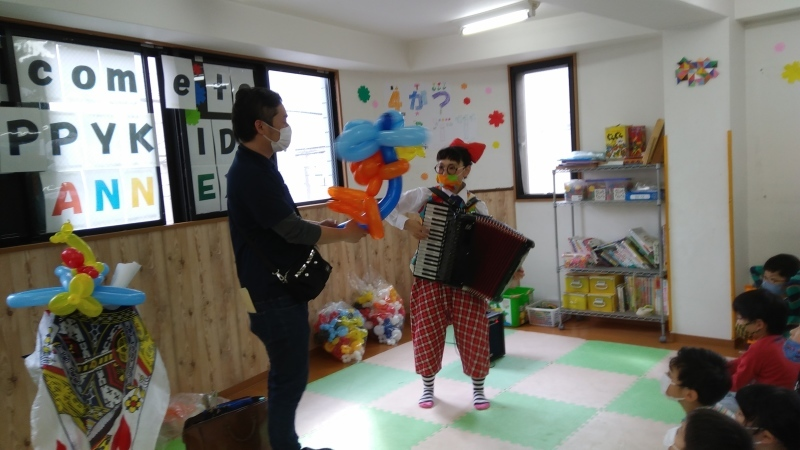 【zippykids荒川】4月2日 Street performer 「大道芸人イベント」_f0225094_20132736.jpg