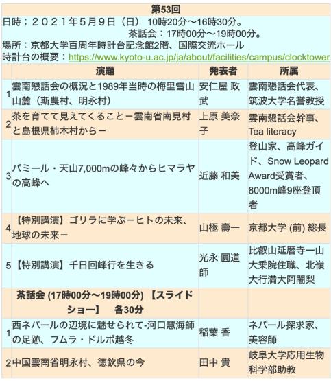 第53回雲南懇話会 京都フォーラム_e0111396_19032156.jpg