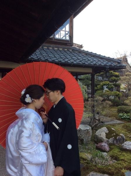 """4月3日""""結婚式の前撮り""""が「芭蕉の館」でありました。_f0289632_21125755.jpg"""