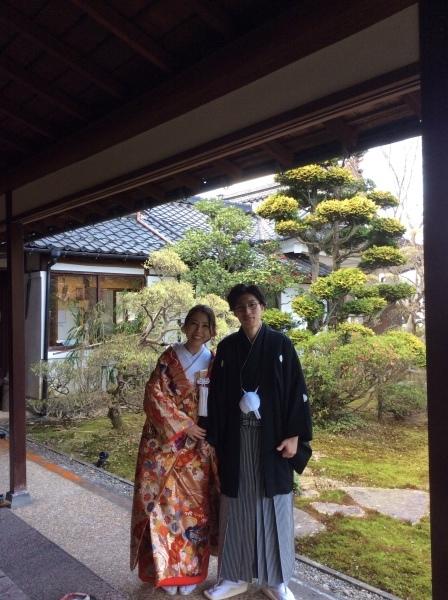 """4月3日""""結婚式の前撮り""""が「芭蕉の館」でありました。_f0289632_21131888.jpg"""
