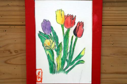 色鉛筆画 ~ チューリップ ~_e0222340_11505193.jpg