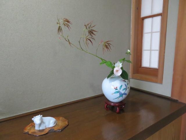 手向山(タムケヤマ)紅葉を活ける_f0329849_17024822.jpg