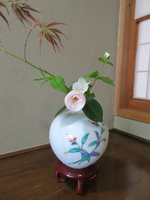 手向山(タムケヤマ)紅葉を活ける_f0329849_17043724.jpg
