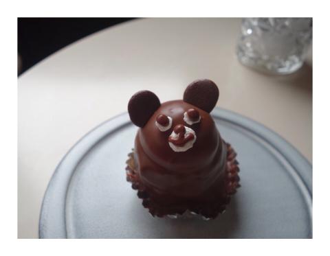 くまあそび、くまケーキ、くまだらけ_d0268070_20543858.jpg