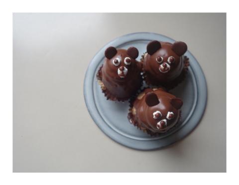 くまあそび、くまケーキ、くまだらけ_d0268070_20545226.jpg