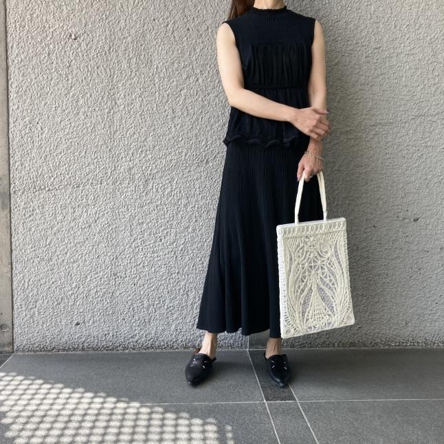 『Mame Kurogouchi』Cartain Knit_c0188711_14024365.jpeg