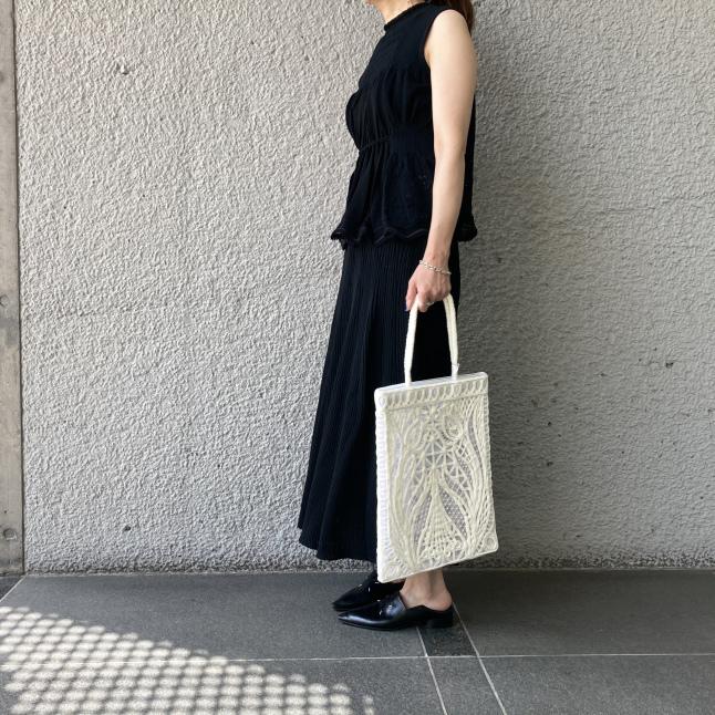『Mame Kurogouchi』Cartain Knit_c0188711_14025778.jpeg