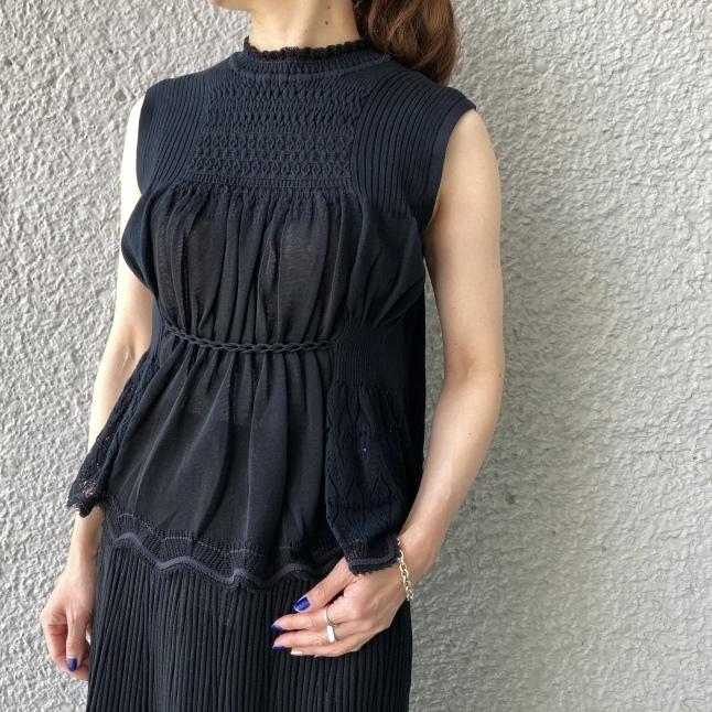 『Mame Kurogouchi』Cartain Knit_c0188711_14041525.jpeg