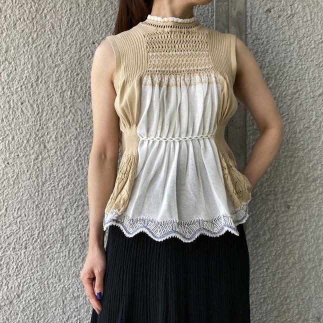 『Mame Kurogouchi』Cartain Knit_c0188711_14050286.jpeg