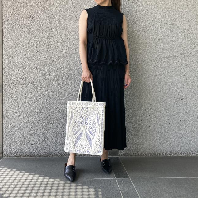『Mame Kurogouchi』Cartain Knit_c0188711_14052393.jpeg