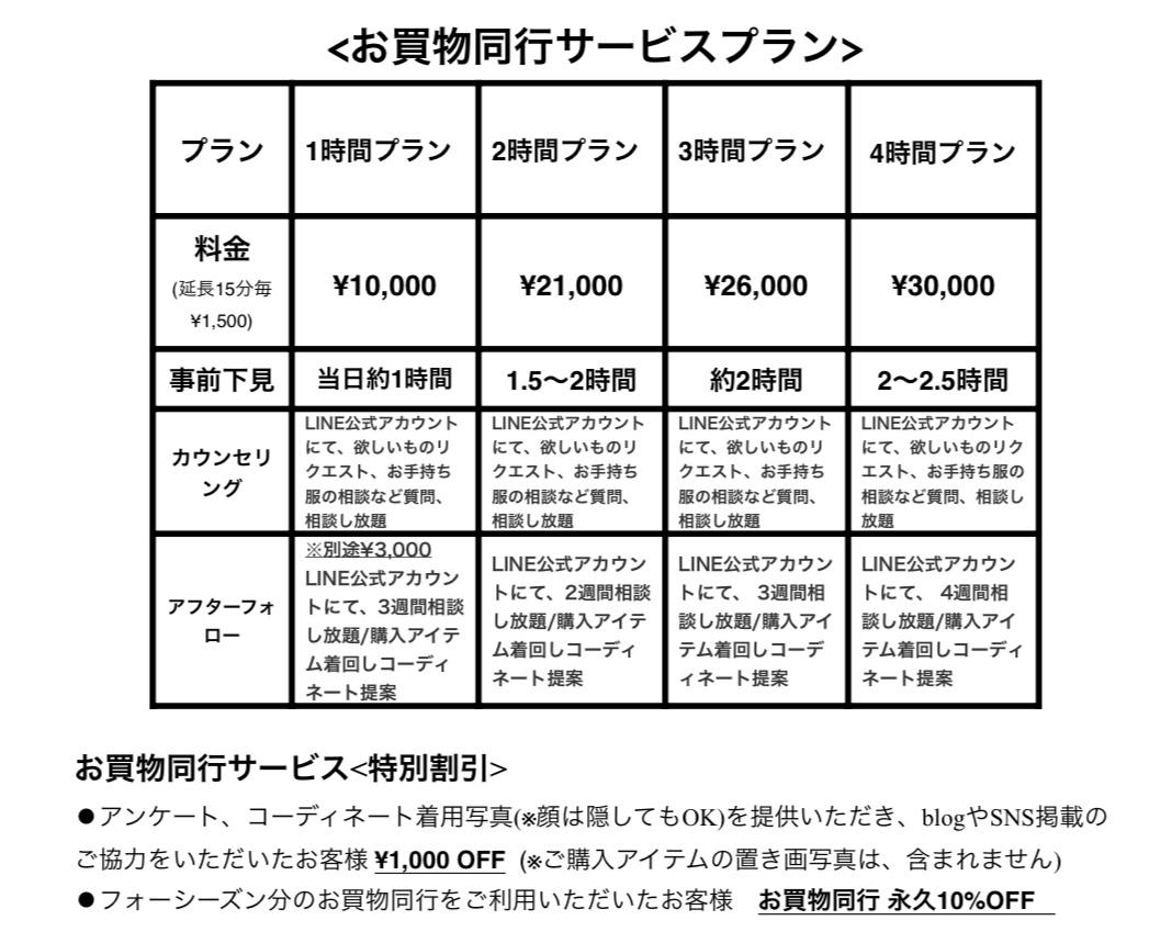 最新お買物同行サービスプラン_d0336521_22101181.jpg