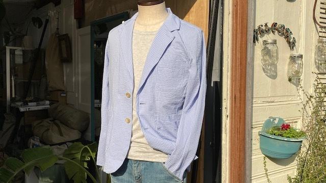 シャツの薄さが心地よい♪サマーテーラードジャケット_d0108933_00303554.jpg