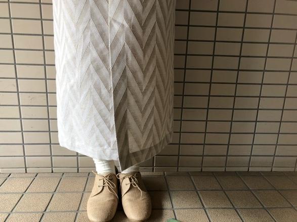 nitca◇ジャガード矢織りストレートスカート◇_d0127394_15023469.jpg