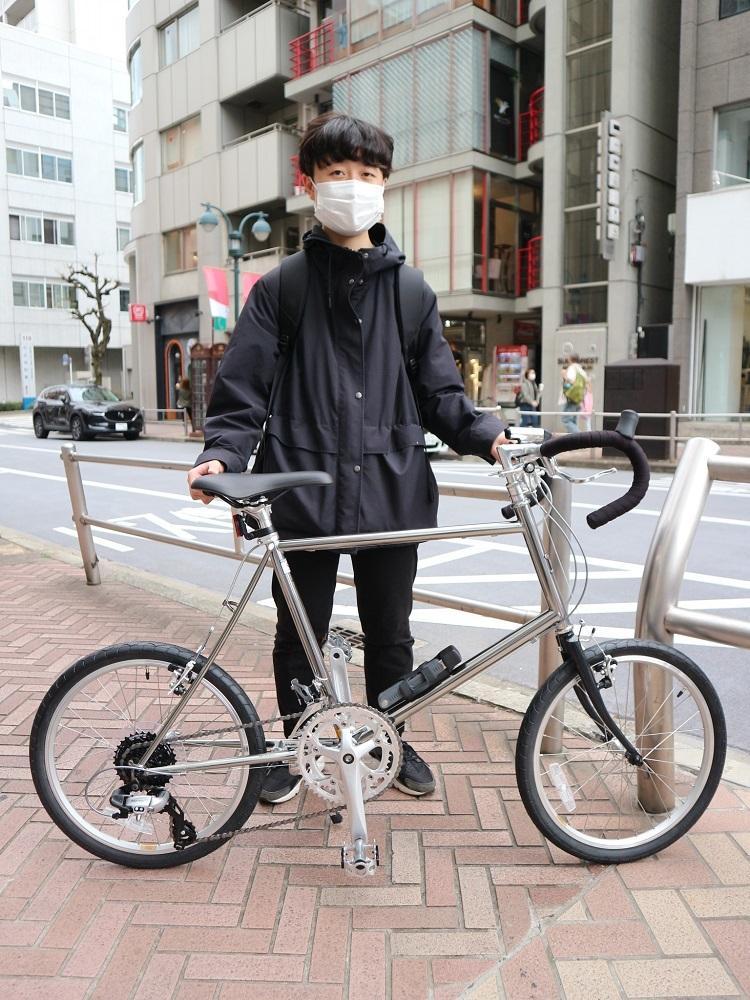 4月5日 渋谷 原宿 の自転車屋 FLAME bike前です_e0188759_15072028.jpg