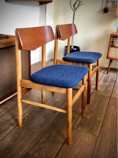 Dining chair ①_c0139773_16393604.jpg