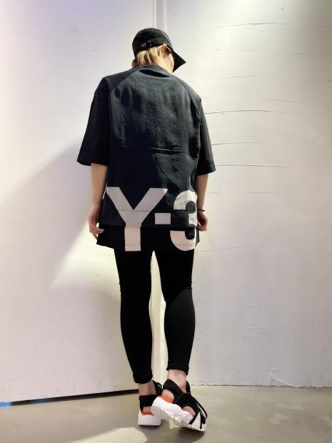 21SS「Y-3ワイスリー」新作グラフィックTシャツ2型入荷です。_c0204280_12093465.jpg