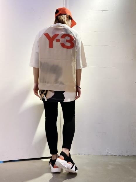 21SS「Y-3ワイスリー」新作グラフィックTシャツ2型入荷です。_c0204280_12094258.jpg