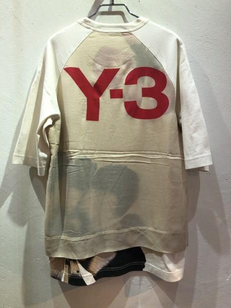 21SS「Y-3ワイスリー」新作グラフィックTシャツ2型入荷です。_c0204280_12213165.jpg