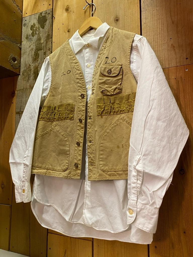 4月7日(水)マグネッツ大阪店Vintage入荷日!! #3 Hunting&BSA編!! 20\'s~HuntingVest,HenryNeckUnderwear,KAMO DuckHunter!!_c0078587_12375587.jpg