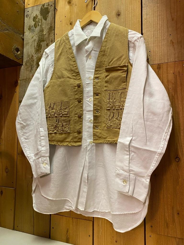 4月7日(水)マグネッツ大阪店Vintage入荷日!! #3 Hunting&BSA編!! 20\'s~HuntingVest,HenryNeckUnderwear,KAMO DuckHunter!!_c0078587_12384314.jpg