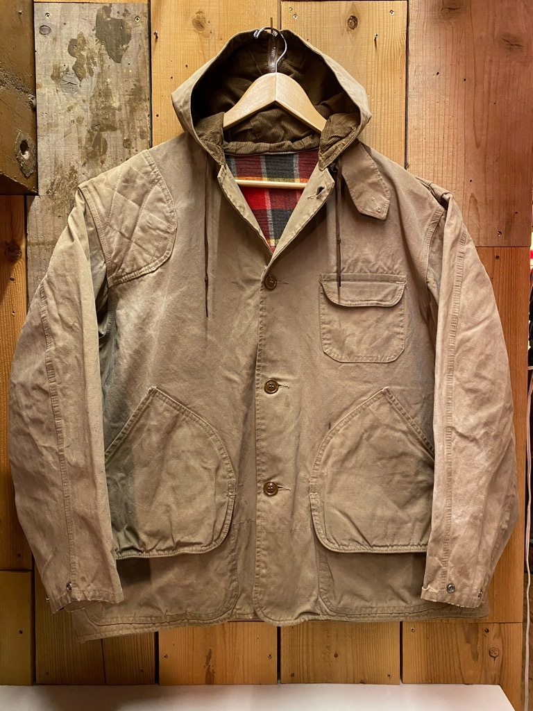 4月7日(水)マグネッツ大阪店Vintage入荷日!! #3 Hunting&BSA編!! 20\'s~HuntingVest,HenryNeckUnderwear,KAMO DuckHunter!!_c0078587_12420069.jpg