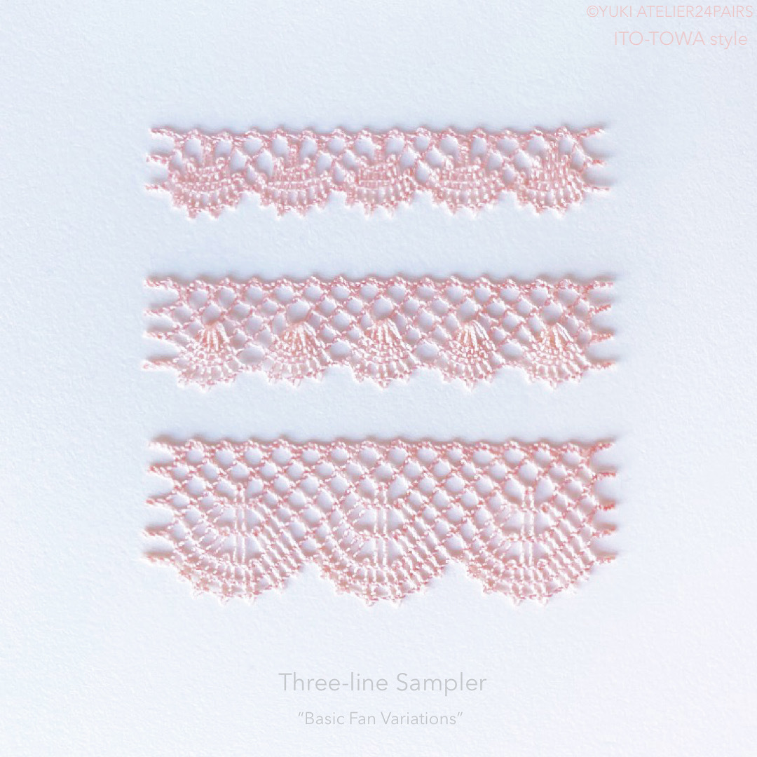 "Three-line Sampler ""Basic Fan variations""_f0108001_09074059.jpeg"