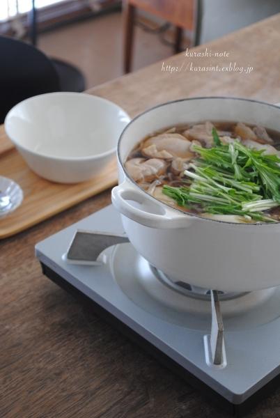 初めての味!? * 比内地鶏スープのきりたんぽ鍋を食べる_b0351624_11335131.jpg