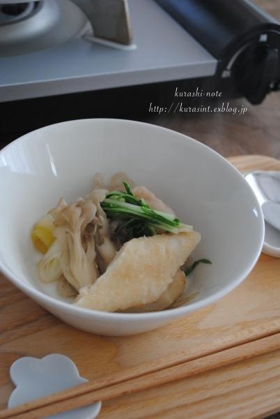 初めての味!? * 比内地鶏スープのきりたんぽ鍋を食べる_b0351624_11340270.jpg