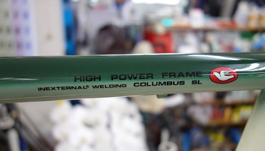 MBK Racing HIGH POWER FRAME inexternal welding COLUMBUS SL MADE IN FRANCE _b0225442_19534797.jpg