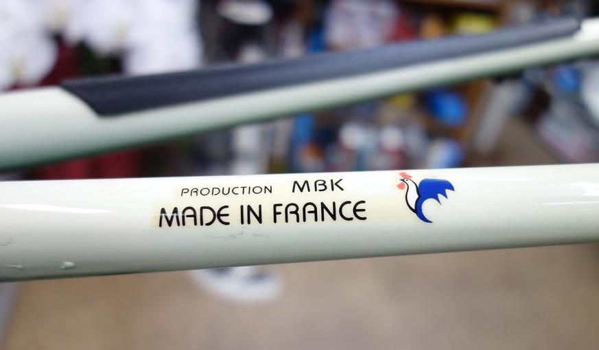 MBK Racing HIGH POWER FRAME inexternal welding COLUMBUS SL MADE IN FRANCE _b0225442_19535726.jpg