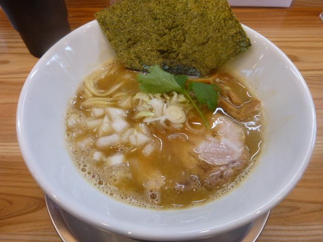 【新店】鶏魚白湯SOBA@麺屋 smile_a0389150_15300869.jpg