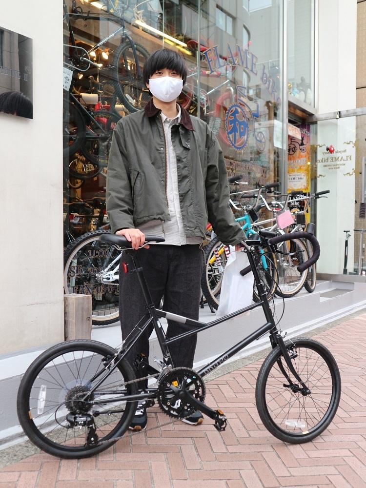 4月6日 渋谷 原宿 の自転車屋 FLAME bike前です_e0188759_18112071.jpg