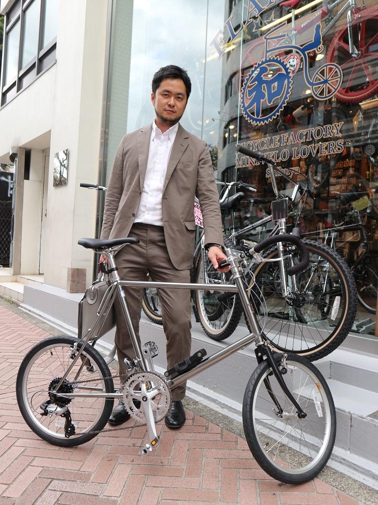 4月6日 渋谷 原宿 の自転車屋 FLAME bike前です_e0188759_18112306.jpg