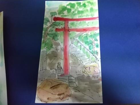向島散策、立岩稲荷神社_a0220570_23084354.jpg