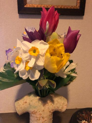 この春のスギナ よもぎで下染め_e0295491_08254359.jpg