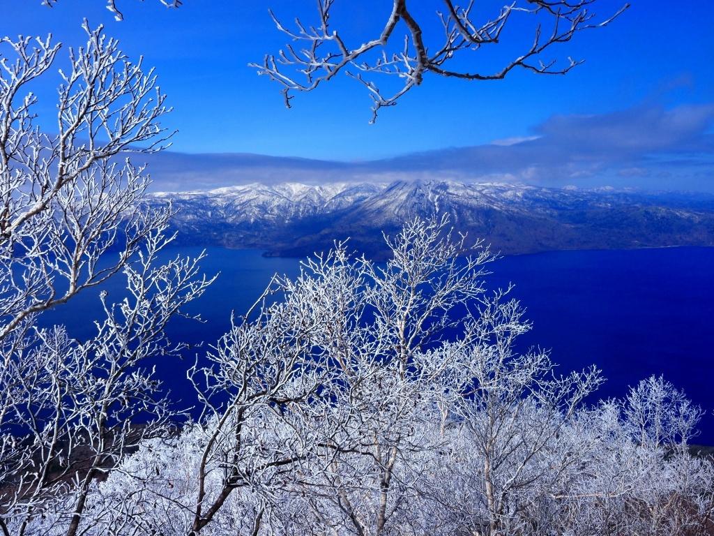樹氷に感動の風不死岳、2021.4.6ー速報版ー_f0138096_18524806.jpg