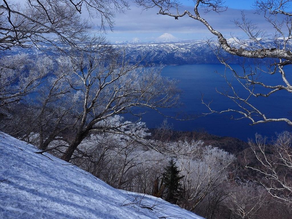 樹氷に感動の風不死岳、2021.4.6ー速報版ー_f0138096_18524856.jpg