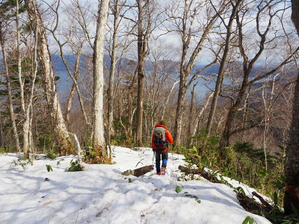 樹氷に感動の風不死岳、2021.4.6ー速報版ー_f0138096_18524868.jpg