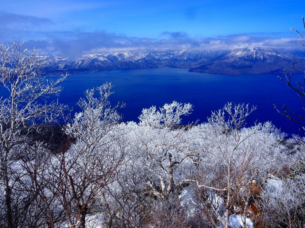 樹氷に感動の風不死岳、2021.4.6ー速報版ー_f0138096_18524963.jpg