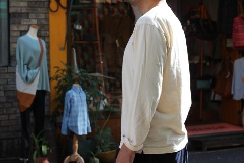 "「Jackman」 年中使える \""Henleyneck L/S T-shirt\"" ご紹介_f0191324_09065649.jpg"